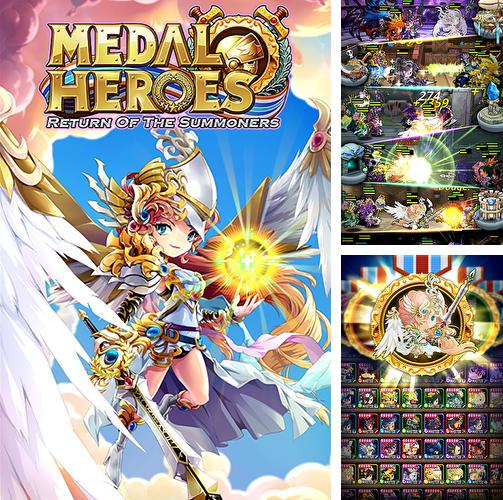 In addition to the game 9 lives: A tap cats RPG for Android phones and tablets, you can also download Medal heroes: Return of the summoners for free.