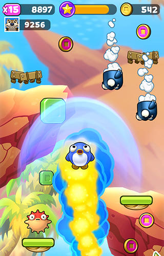 Mega jump infinite screenshot 2