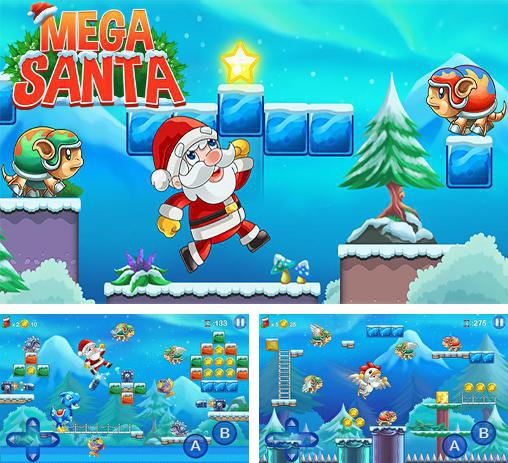 In addition to the game Snowman run for Android phones and tablets, you can also download Mega Santa for free.