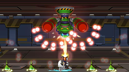 Screenshots von Mega shooter: Shoot em up. Space galaxy shooting für Android-Tablet, Smartphone.