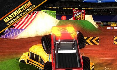 Screenshots do Megastunt Mayhem - Perigoso para tablet e celular Android.