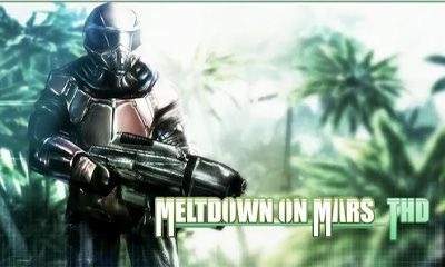 Meltdown on Mars 3D poster