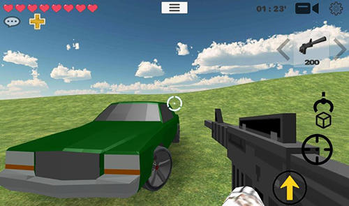 Screenshots do Memes wars multiplayer sandbox - Perigoso para tablet e celular Android.