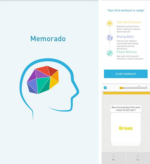 In addition to the game Lavi The Memory for Android phones and tablets, you can also download Memorado: Brain games for free.