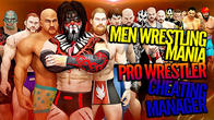 Men wrestling mania: Pro wrestler cheating manager APK