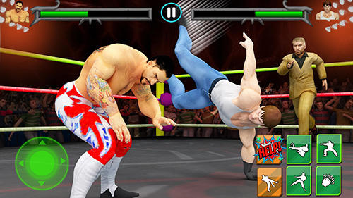 Гра Men wrestling mania: Pro wrestler cheating manager на Android - повна версія.