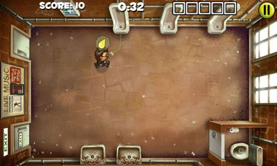 Screenshots of the Men's Room Mayhem for Android tablet, phone.