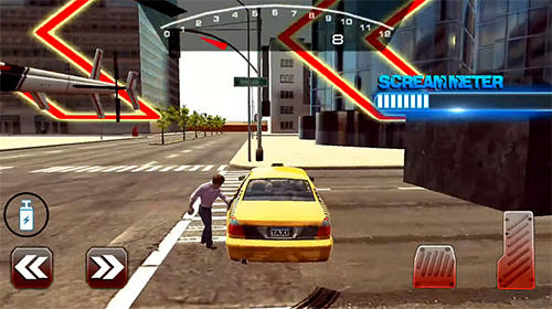 Mental taxi simulator: Taxi game screenshot 2