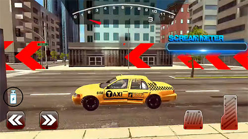 Screenshots von Mental taxi simulator: Taxi game für Android-Tablet, Smartphone.