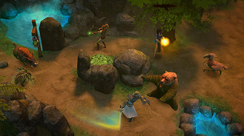 Screenshots von Mentors: Turn based RPG strategy für Android-Tablet, Smartphone.