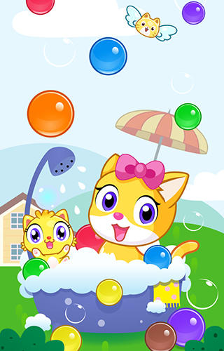 Meow pop: Kitty bubble puzzle screenshot 1