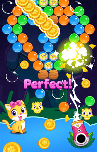 Meow pop: Kitty bubble puzzle screenshot 5