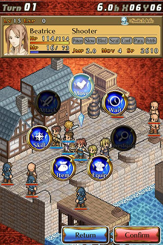 Screenshots von Mercenaries saga 2: Order of the silver eagle für Android-Tablet, Smartphone.