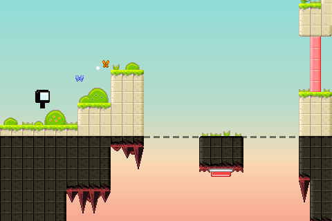Mercurial story: Platform game screenshot 1