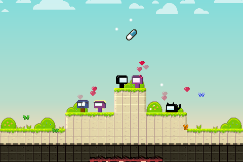 Mercurial story: Platform game screenshot 3