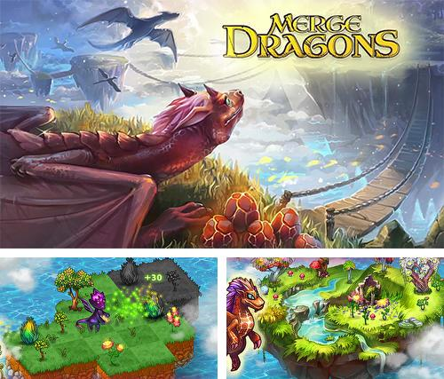 In addition to the game Merge dragons! for Android, you can download other free Android games for Fly FS528.