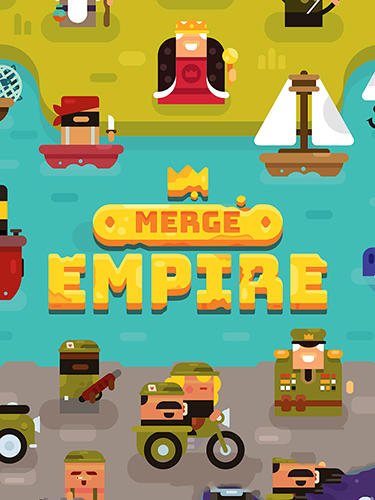 Merge empire: Idle kingdom and crowd builder tycoon poster