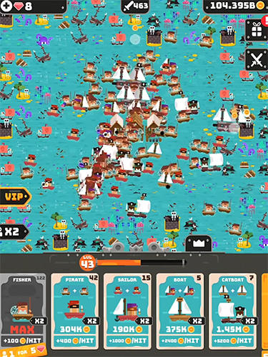 Merge empire: Idle kingdom and crowd builder tycoon screenshot 1