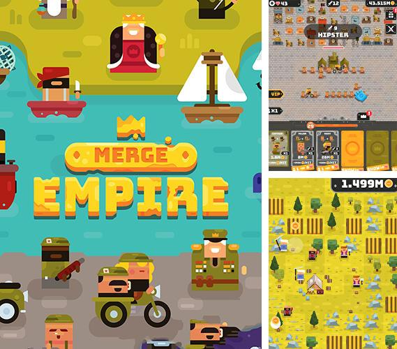 Merge empire: Idle kingdom and crowd builder tycoon