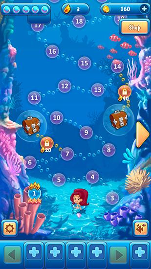 Mermaid: Match 3 screenshot 1