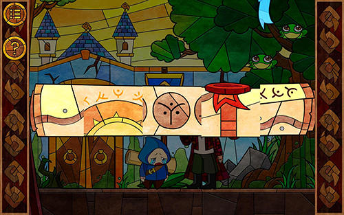 Screenshots von Message quest: Adventures of Feste für Android-Tablet, Smartphone.
