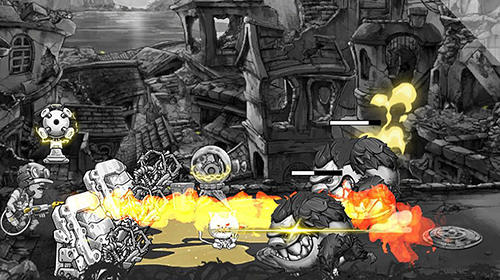 Screenshots von Metal defender: Battle of fire für Android-Tablet, Smartphone.