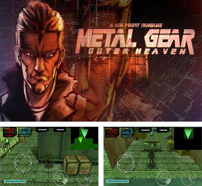In addition to the game Splinter Cell Blacklist Spider-Bot for Android phones and tablets, you can also download Metal Gear Outer Heaven for free.