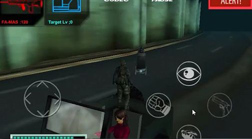 Геймплей Metal gear: Outer heaven. Part 3 для Android телефону.
