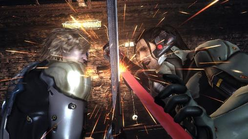 Kostenloses Android-Game Metal Gear Rising: Rache. Vollversion der Android-apk-App Hirschjäger: Die Metal gear rising: Revengeance für Tablets und Telefone.