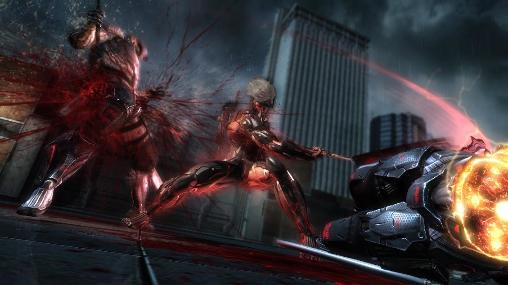 Screenshots von Metal gear rising: Revengeance für Android-Tablet, Smartphone.