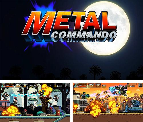 Metal mercenary: 2D platform action shooter