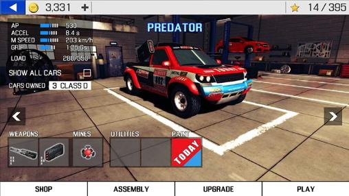 Metal racer screenshot 2