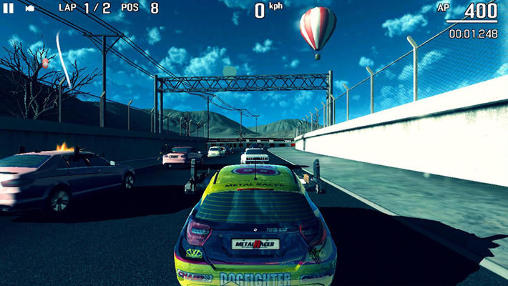 Metal racer screenshot 3