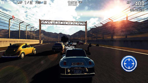 Metal racer screenshot 4