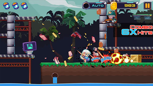 Metal shooter: Run and gun screenshot 3