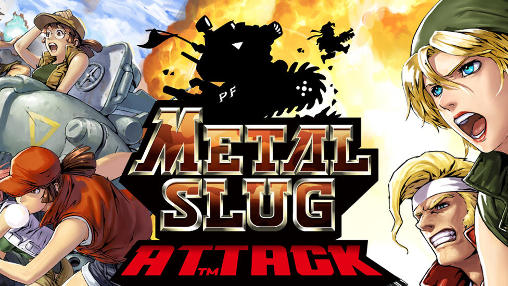 Metal slug attack poster