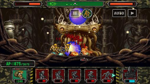 Jogue Metal slug attack para Android. Jogo Metal slug attack para download gratuito.