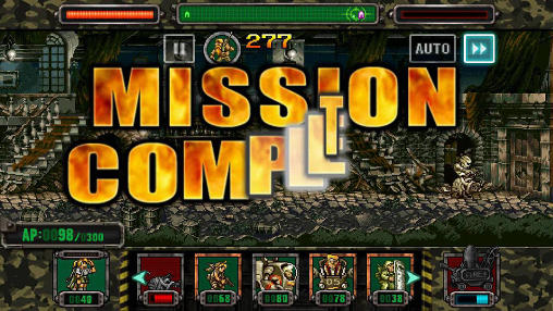 Screenshots do Metal slug attack - Perigoso para tablet e celular Android.