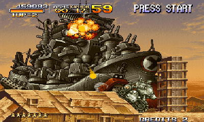 Metal Slug II screenshot 3