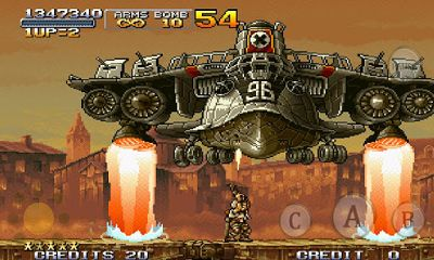 Screenshots do Metal Slug X - Perigoso para tablet e celular Android.