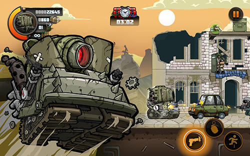 Jogue Metal soldiers 2 para Android. Jogo Metal soldiers 2 para download gratuito.