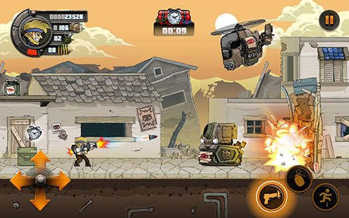 Screenshots do Metal soldiers 2 - Perigoso para tablet e celular Android.