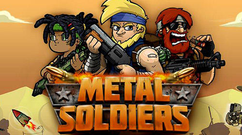 Metal soldiers: Shooting game poster