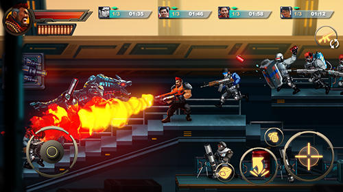 Screenshots von Metal squad: Shooting game für Android-Tablet, Smartphone.