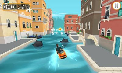 Screenshots of the Mannen Fran 3 JetSki for Android tablet, phone.