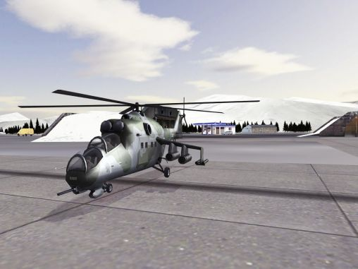 Mi-24 Hind: Flight simulator скриншот 2