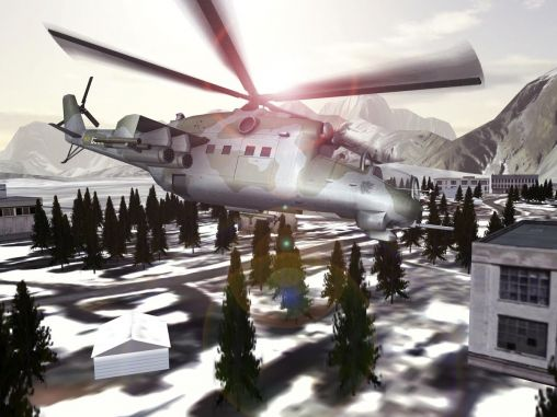 Screenshots von Mi-24 Hind: Flight simulator für Android-Tablet, Smartphone.