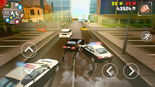 Screenshots von Miami crime: Grand gangsters für Android-Tablet, Smartphone.