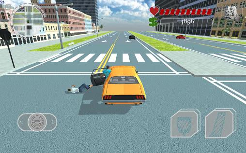 Screenshots do Miami crime: Vice town - Perigoso para tablet e celular Android.