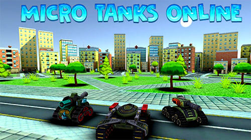 Micro tanks online: Multiplayer arena battle обложка